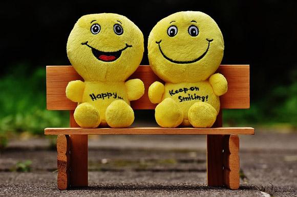 笑顔は幸福を呼ぶ
