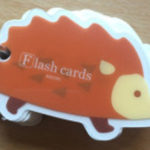 好きな言葉の日めくりカードを単語帳で作る